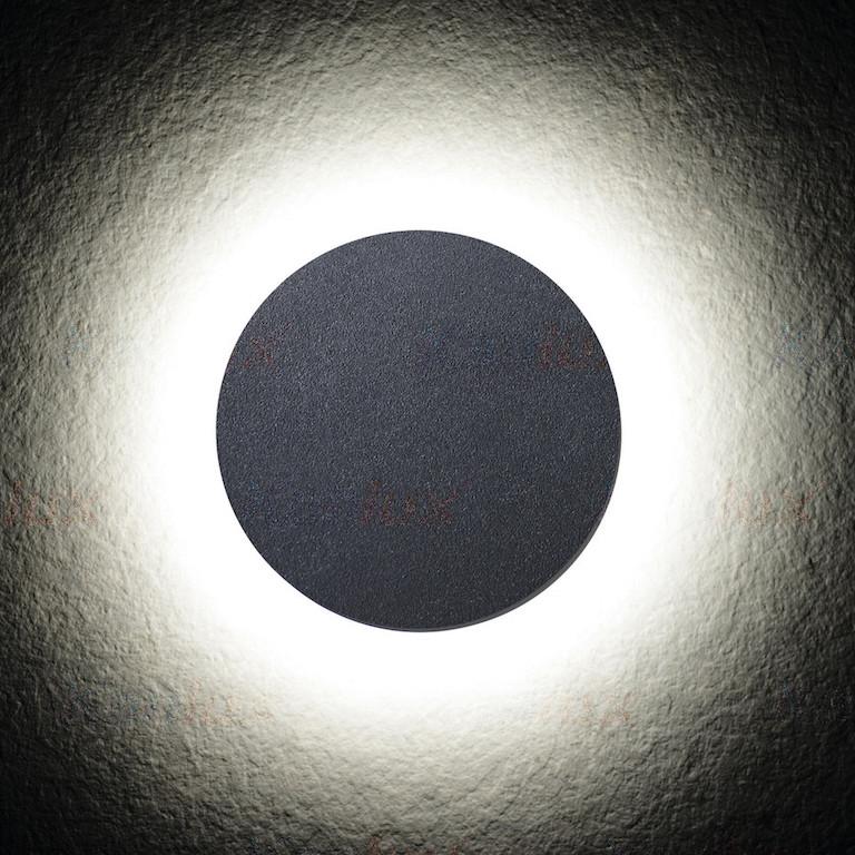 Sanfte Streuung des Lichts an Fassade