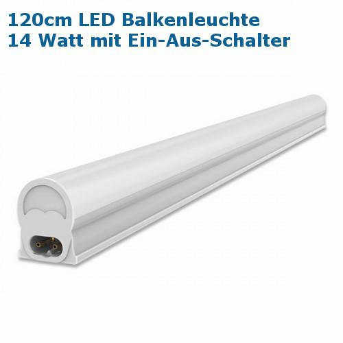 LED Balkenleuchte Unterbauleuchte mit Schalter