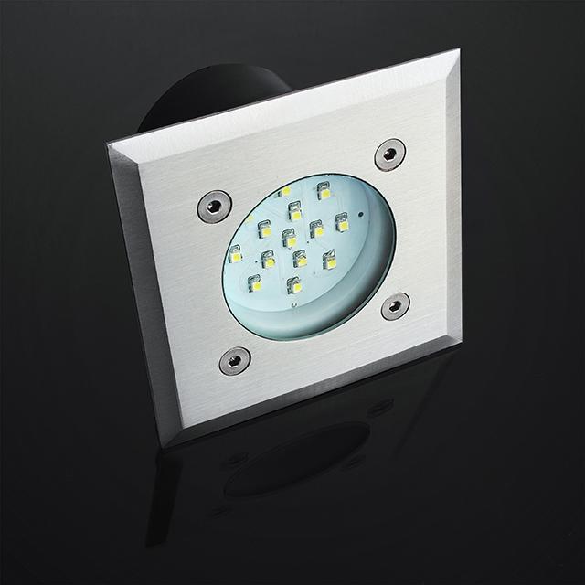 LED Bodeneinbaustrahler edelstahl
