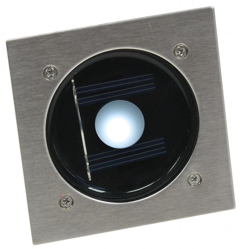 Bodeneinbaustrahler LED Solar