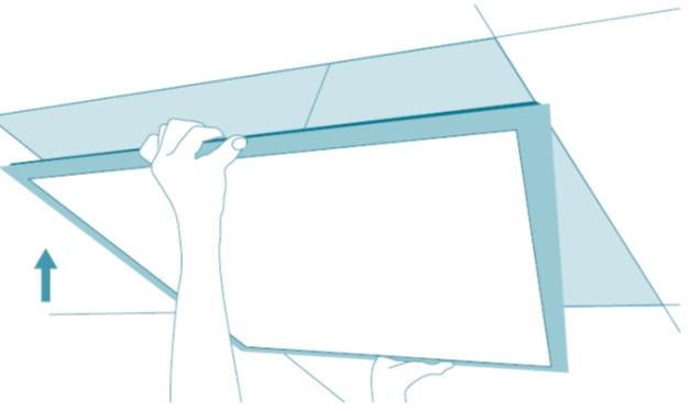 620 x 620 LED Panel 36W 3600 Lumen 62x62