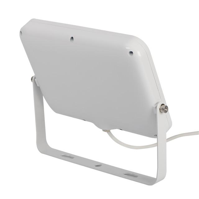 flacher 20W LED Fluter mit weissem Gehäuse