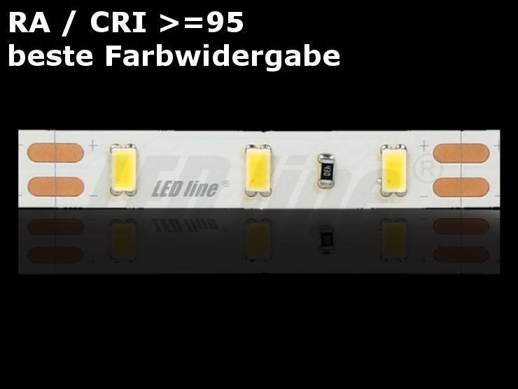LED Stripe, Streifen RA CRI >= 95