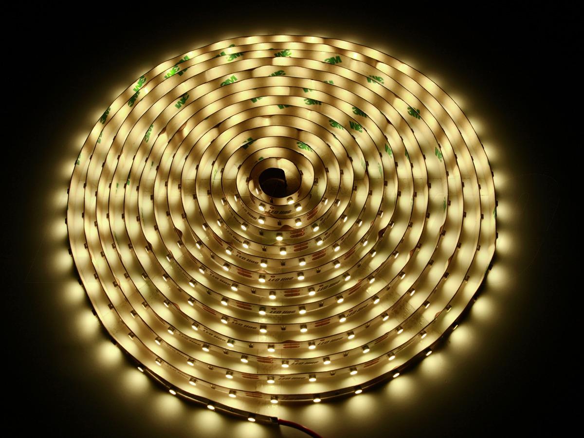 500cm LED Stripe warmweiss 2700K