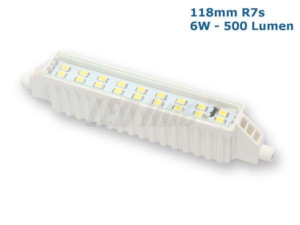 118mm R7s LED 6W