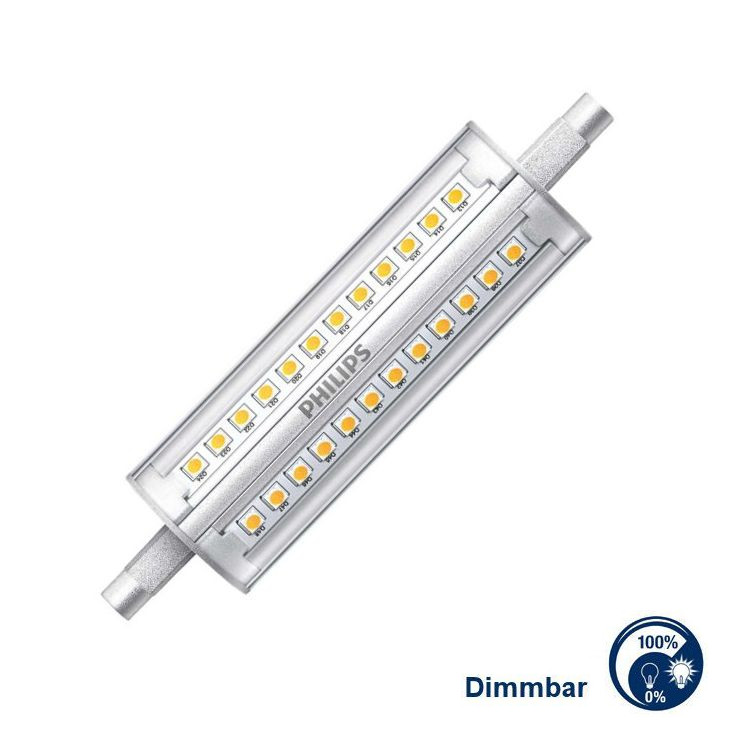 Helle R7s LED dimmbar 14W