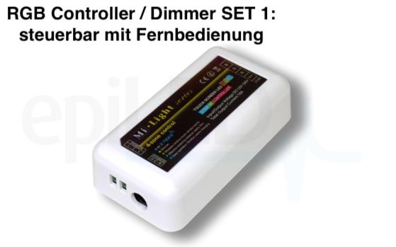 Funk 4 Zonen RGB Controller