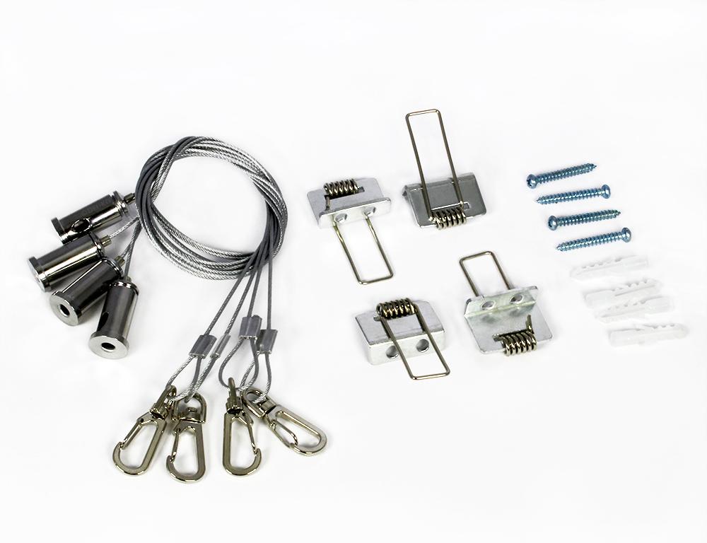 Seilsystem für LED Panel abhängen