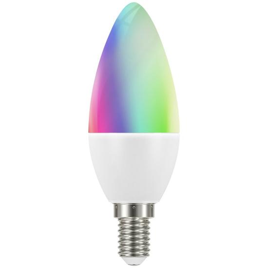 Smart Home RGBW E14 LED Glühbirnen mit Fernbedienung
