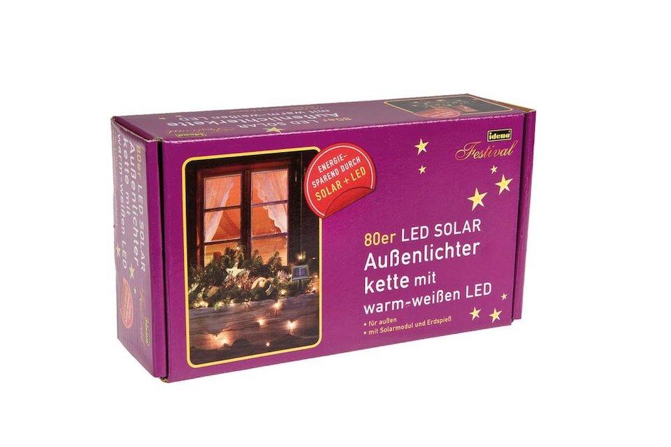 Solar LED Lichterkette IDENA 80er
