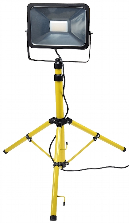 Teleskopstativ, Halterung für LED Fluter, Scheinwerfer