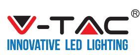VTAC LED Balkenleuchte T5 120cm VT-1273