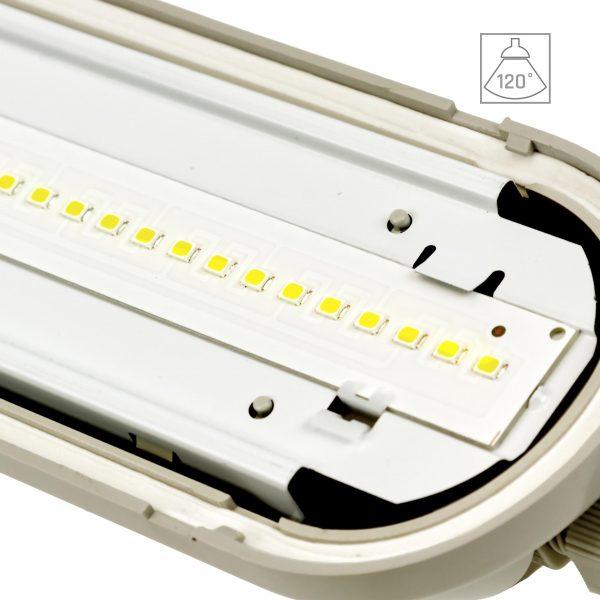 Sehr helle LED Deckenleuchte 8000 Lumen