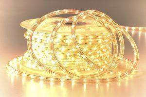 LED Lichtschlauch außen warmweiß UV beständig
