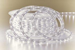 LED Lichtschlauch außen kaltweiß UV beständig