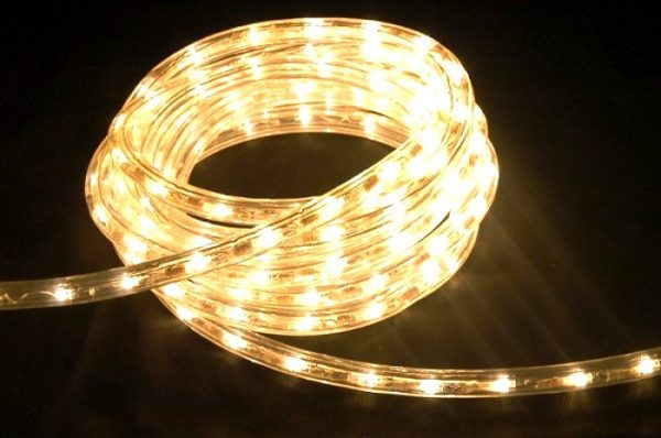 LED Lichtschlauch warmweiß UV beständig