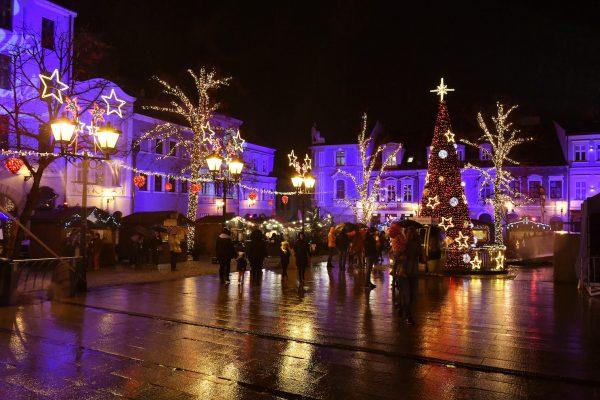 LED Lichtschlauch UV-beständig Weihnachtsmarkt