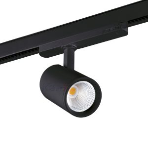 3 Phasen Stromschiene LED 18W schwarz