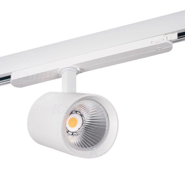 3 Phasen Stromschiene LED 30W weiss