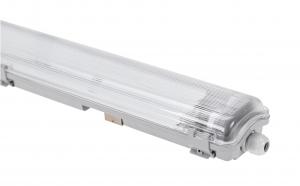 Wannenleuchte Feuchtraumleuchte 2-Fach LED