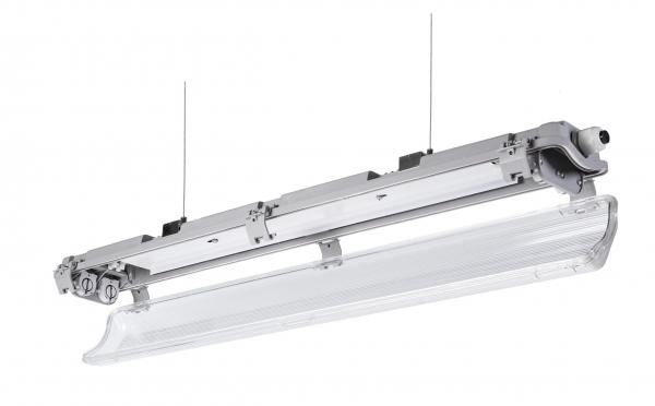 Wannenleuchte 2-Fach LED Feuchtraumleuchte